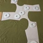 Schnitt Twisted Shirt