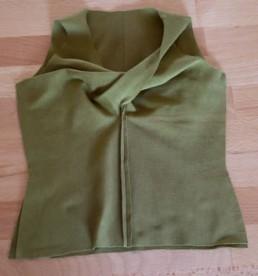 Seitennaht Twisted Shirt