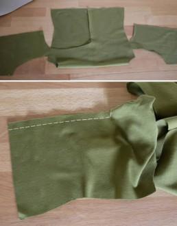 Vordere Mitte Twisted Shirt